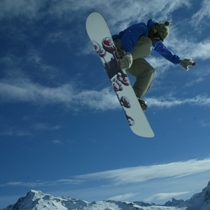 Snowboarder Chalet Cook