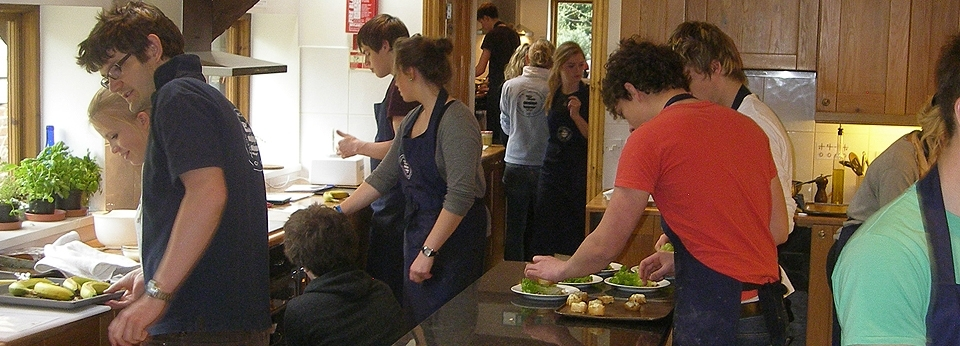 Students Cooking
