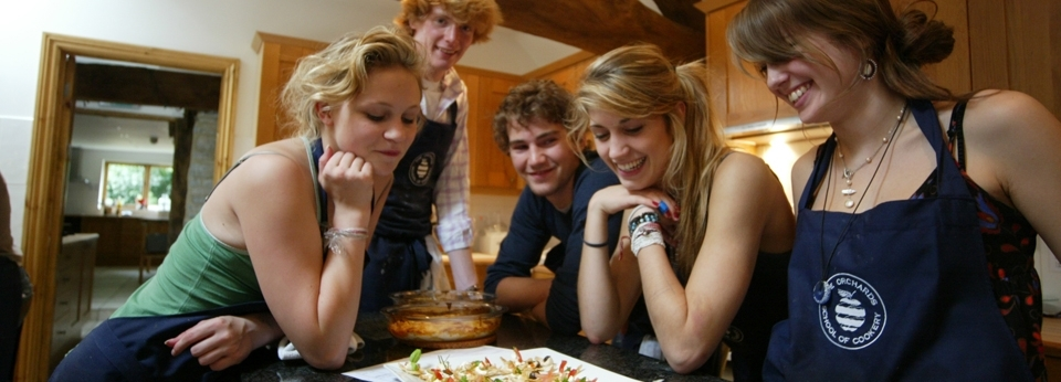 Orchard Cookery Course Dates