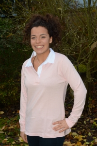 Ladies Rugby Shirt  - Light Pink