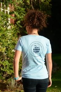 Ladies T-shirts - Sky Blue