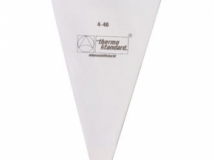 Piping bag with star shaped nozzle