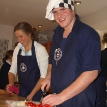Orchard Cookery Graduates