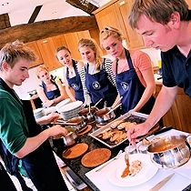 Orchards Cookery Students